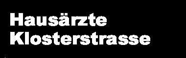 Hausärzte Klosterstrasse Logo